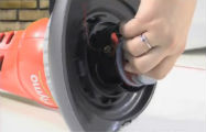 How to replace the spool and line on a Flymo trimmer