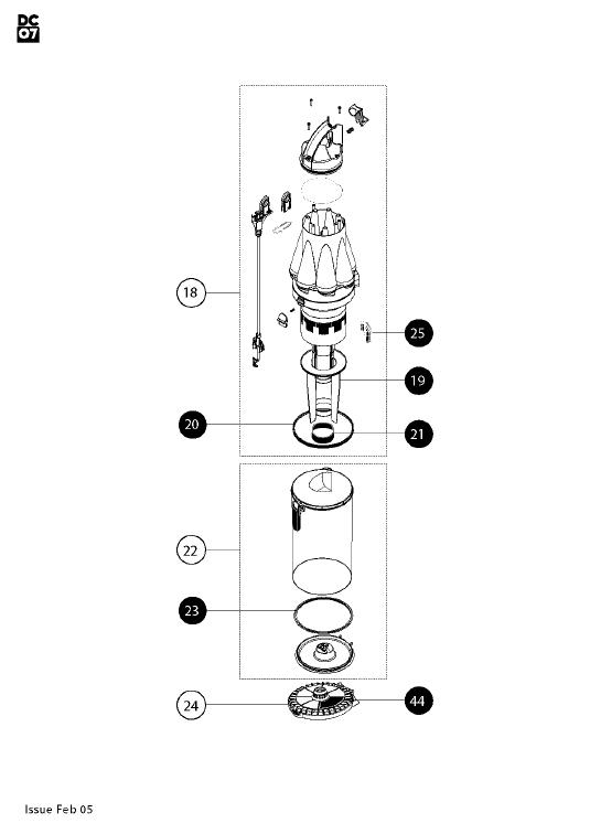 dyson vacuum spare parts