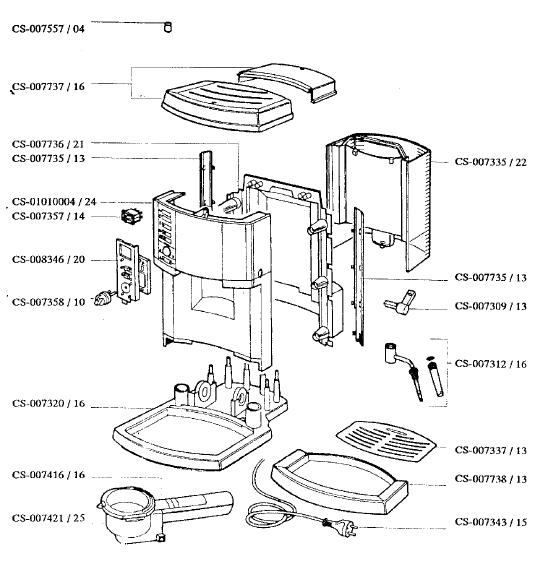 Rowenta ES160 Expresso Small Appliance Spares  BuySpares
