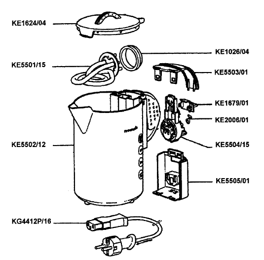 electric kettle  electric kettle diagram
