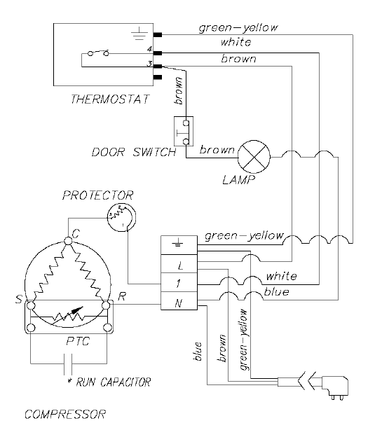 Wiring Diagram For Fridge Thermostat : Ranco k thermostat wiring diagram