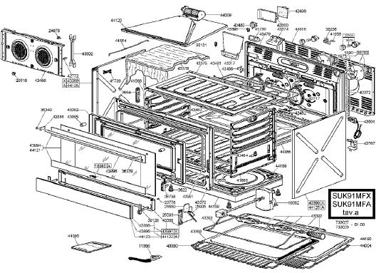Smeg Suk91mfx Cooker  U0026 Oven Spares