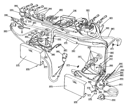 11%29_generator%2Cwiring_%285455%29 rangemaster 5455 110 ng cream gourmet spares buyspares rangemaster 110 clock wiring diagram at bakdesigns.co