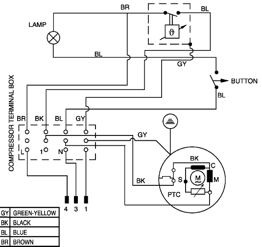 Wiring Diagram For Fridge Thermostat : Beko rb fridge freezer spares buyspares